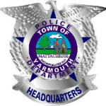 Yarmouth Police Silver Badge Graphic