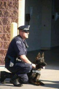 Officer Kramer and K9 Demo