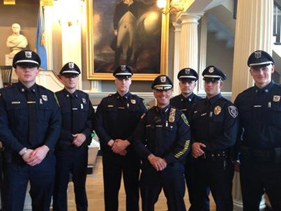YARMOUTH POLICE ATTEND SPECIAL MBTA POLICE DEPARTMENT ACADEMY GRADUATION CEREMONY IN HISTORIC FANEUIL HALL IN BOSTON